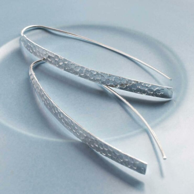 Urban Armoaur Silver Earrings by Martha Jackson