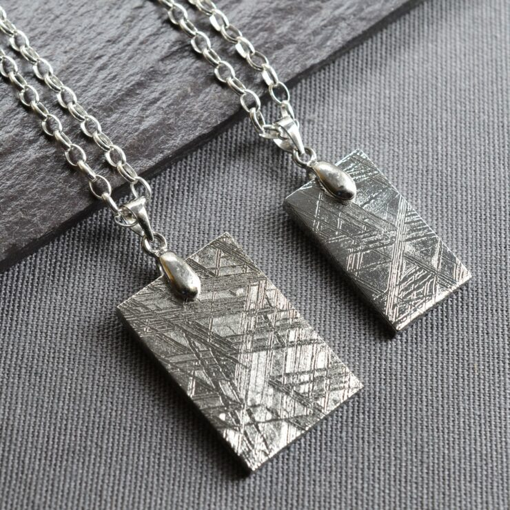 Meteorite Necklace available in two sizes