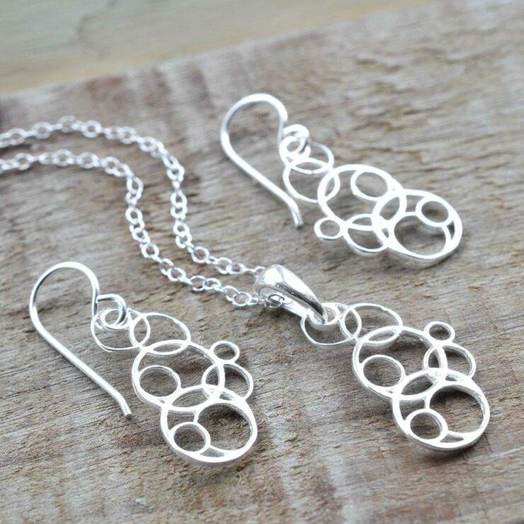 Silver Bubbles Jewellery by Martha Jackson