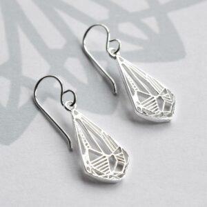 Silver Art Deco Diamond Jewellery by Martha Jackson