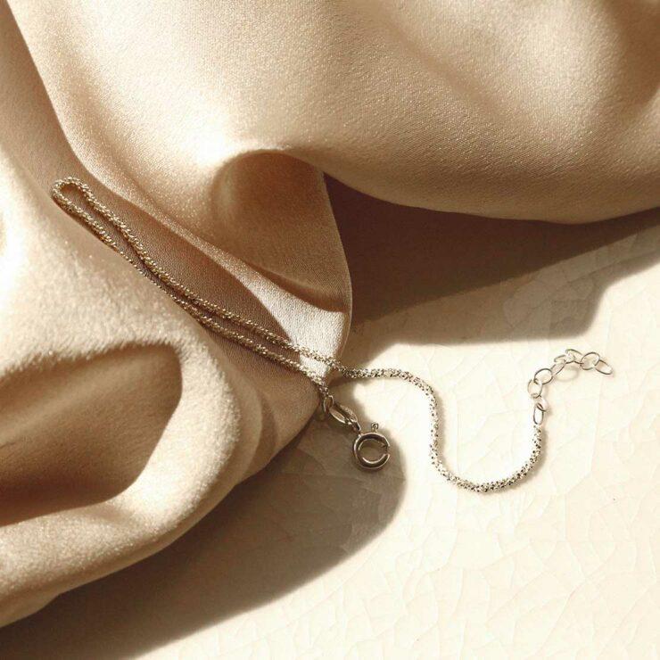 Margarita Bracelet on silky background