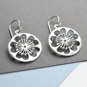 Silver Primrose Jewellery by Martha Jackson