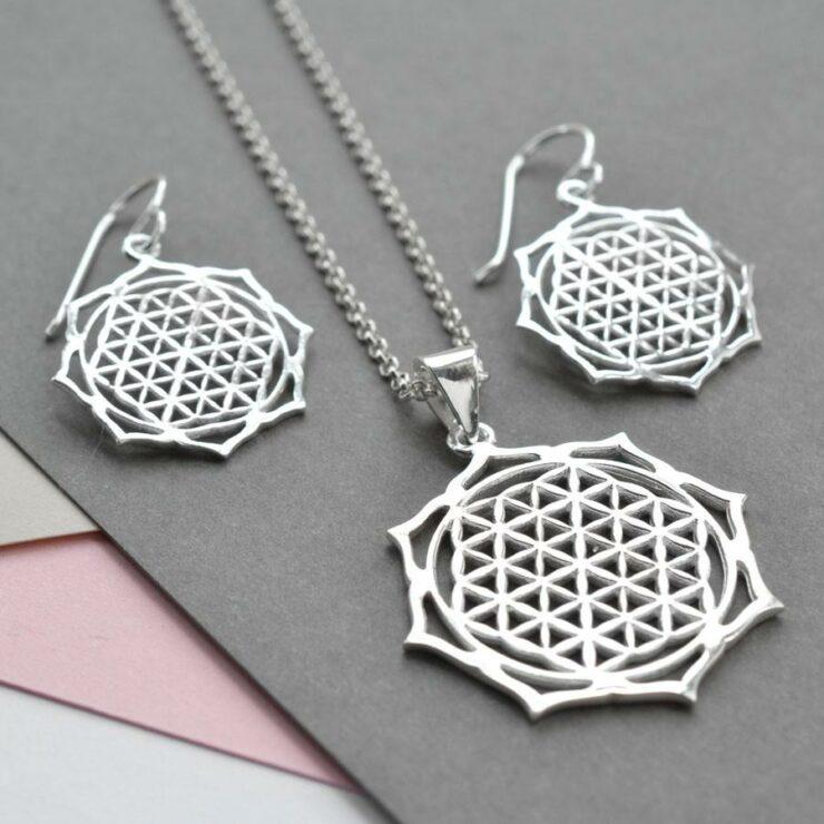 Silver Moroccan Flower Jewellery by Martha Jackson