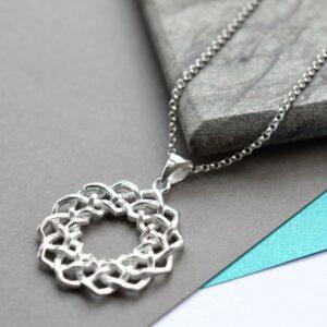Silver Celtic Love Knot Jewellery by Martha Jackson