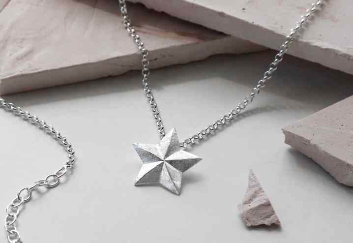 Moon & Stars Pendant Necklaces