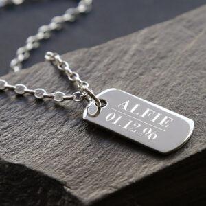 Men's Personalised Jewellery