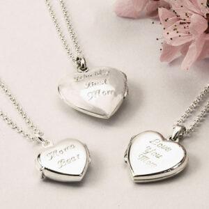 Heart Pendant Lockets